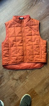 orange vest kids sz 10/12 in Westmont, Illinois