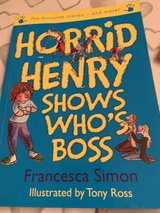 Horrid Henry Story collection in Lakenheath, UK