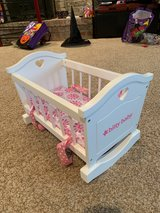 American Girl Bitty Baby Cradle in Naperville, Illinois