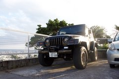 1997 Jeep Wrangler TJ in Okinawa, Japan