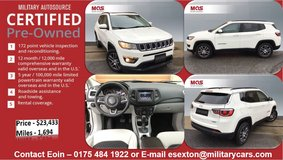 MAS Certified Pre-Owned Jeep Compass Latitude in Grafenwoehr, GE