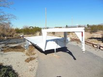 GOOSENECK 16' STEEL FLATBED TRAILER in Alamogordo, New Mexico
