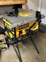 "Dewalt Portable Table Saw 10"" blade in Fort Campbell, Kentucky"