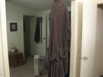 heavy terrycloth robe worn once in Alamogordo, New Mexico