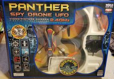 World Tech Toys Panther SPY Drone UFO Video Camera 2.4GHz RC Quadcopter in Houston, Texas