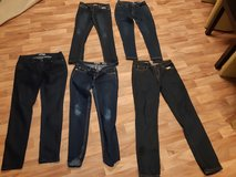 5 pairs of Womens Skinny Blue Jeans LIKE new in Spangdahlem, Germany