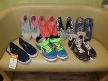 6 pairs of Womens shoes new and like new ( nikes sold) in Spangdahlem, Germany