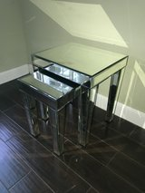 Mirrored Nesting Tables in Kingwood, Texas