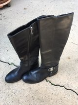 Vince Camuto VC-Farren style Black Smooth Calf Boots size 8.5 in Camp Pendleton, California