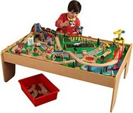 Kidkraft Waterfall Mountain Train Set and Table in Fort Campbell, Kentucky