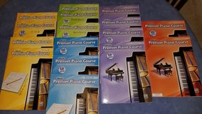 Set of 16 Alfred's Premier Piano Course Books, Levels 1B, 2A, 2B, 3, 4 in Kingwood, Texas