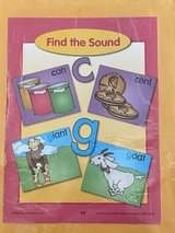 Evan Moor Find the Sound c/g Laminated Activity in Okinawa, Japan