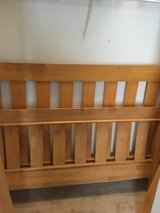 Solid Pine Sleigh Bed - Full Size in Joliet, Illinois