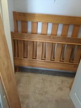 Full Size Solid Pine Sleigh Bed in Joliet, Illinois