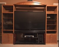 tv/stand/entertainment ctr in Clarksville, Tennessee