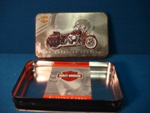 HARLEY DAVIDSON TIN/ NEW DECK OF CARDS in Aurora, Illinois