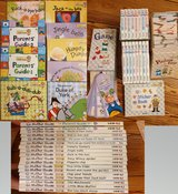 Mother Goose book series with DVDs CDs and picture cards in Wiesbaden, GE