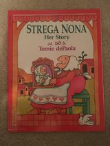 Strega Nona Her Story and Big Anthony His Story books in Camp Lejeune, North Carolina