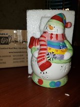 snowman candle holder in Shorewood, Illinois