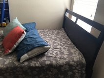 Full size bed with mattress/ box spring in Kingwood, Texas