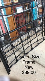 Queen Size Frame (New) in Fort Leonard Wood, Missouri