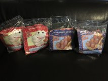 Four Vintage McDonalds Happy Meal Guys Fun with Food - in Sealed Packages! in Bolingbrook, Illinois