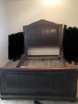 sleigh bed frame: queen size in Camp Pendleton, California