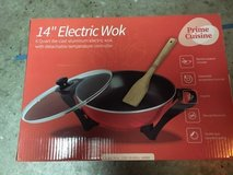 "Prime Cuisine 14"" Electric Wok in Travis AFB, California"