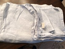light blue Linen table cloth & napkins in Glendale Heights, Illinois