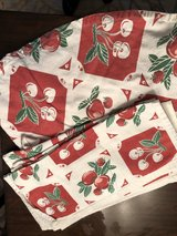 vintage patterned outdoor table cloth & napkins in Glendale Heights, Illinois