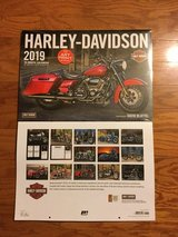 Two...2019....HARLEY-DAVIDSON calendars  - One NEVER OPENED in Naperville, Illinois