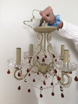 Cute Chandelier for little girls room or closet in Joliet, Illinois
