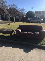 free table and couch in Bellaire, Texas