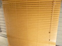 Blinds Brown Faux Wood in Plainfield, Illinois