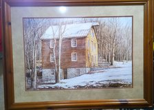 """CUSTOMFRAMED  """"Mill in the Woods"""" by Dan Campanelli in Chicago, Illinois"""