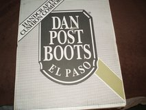 Dan Post El Paso Boots  11EW in Yorkville, Illinois