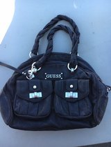 GUESS black leather handbag in Ramstein, Germany