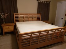 King Bedroom Set with Tempur-Pedic mattress in Fort Campbell, Kentucky