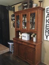 Oak China Cabinet in Baytown, Texas