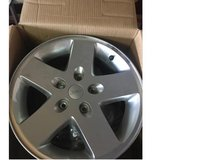 Set of 4 Factory Jeep Rims in Baytown, Texas