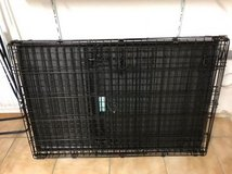 Folding Dog Crate in Grafenwoehr, GE