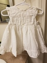 Carter's 9 mo. white dress in Vista, California