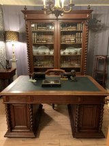 Gentelmen - Office Set   Bookcase, Desk and Chair from France circa 1900 Style Louis XIII in Ramstein, Germany