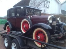 1931 Model A Ford in Naperville, Illinois
