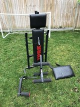 Weights and Bench in Lakenheath, UK