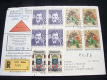 Commemorative stamps from Austria (1977) in Wiesbaden, GE