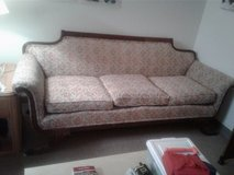Vintage Duncan Phyfe style couch in Yorkville, Illinois