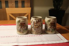 Hunters beer mugs (set of 3) in Ramstein, Germany