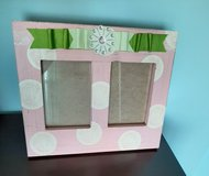 Hobby lobby 12x12 picture frame holds (2) 5x7 pictures in Joliet, Illinois