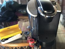 Keurig Coffee Maker with filters and 4 kcups in Camp Lejeune, North Carolina